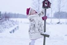 одежда зимний образ