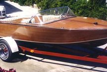 Wooden speed boats