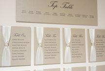 WeddingTable plans / Wedding table numbers
