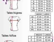 Medidas de camisetas
