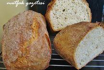 doğal ekmek yapımı