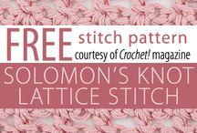 crochet - stitch / by Colleen Heath