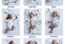 Pomysł na zdjęcia niemowląt