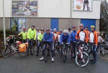 Toerclub ING Arnhem / Enkele pins van de fiets toerclub ING Arnhem.