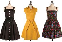 vestidos vintage / by Karina Martinez
