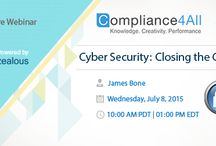 Cyber security webinars and event training / Computer security, also known as cyber safety or IT security, is security applied to computing devices such as computers and smartphones, as well as computer networks such as private and public networks, including the whole Internet.  www.compliance4all,com