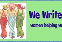 WeWriteStuff / an online writing group for women / by Nancy Ashworth