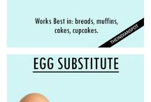 FOOD | egg substitutes