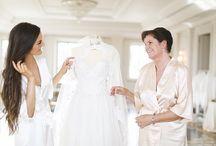 A brides morning