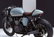 CAFE RACER MOTORCYCLE / DESIGN / IDEAS / REFERENCES / TEXTURES / MOTORCYCLE