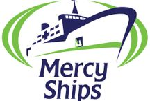 Mercy Ships / We are proud sponsor of Mercy Ships... Each cup helps to send doctors away to provide healthcare to the poor of Africa