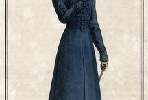 1800-1820 fashion catalog illustration