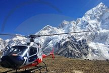Helicopter tour to Mt. Everest