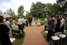 American Heartland Garden - Ceremony / Laumeier's Heartland Rose Garden is the perfect venue for an intimate ceremony.