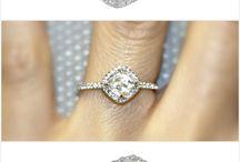 Rough diamond rings / Pretty rings