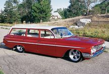 "Sweet Old Cars & Long Roof Wagons / by ""Damn It Boy"" Rod Shop"
