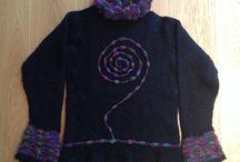 Trines strikkeprodukter / Handicraft