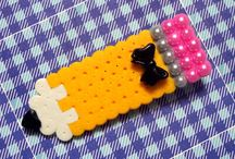 bead thingys hama perler etc