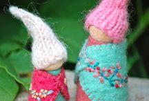 Pegs et poupées
