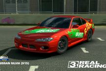Real racing 3 Costums cars