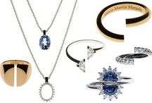 Glittering Necklaces / Necklaces of all sorts, from simple modernist pieces to gems by the hundred-karat.