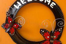 tyre decorations