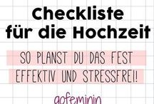 Checklisten Hochzeit❤❤❤