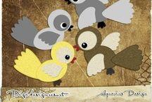 ptáčci- dveře