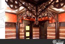 Wooden ceilings