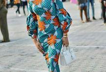 robes afro moderne