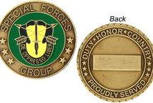 Military Coins / Huge Selection of Military Coins for the Army, Navy, Air Force, Marines, Coast Guard, Spiritual, Veterans, Awards & Medals, Challenge, Rank of Service... Display choices for anyone's needs. 1,000+ at http://www.priorservice.com/challengecoins.html