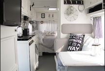 Vintage caravan to turn into an office/girly escape