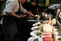 Our Kitchen / Our top chefs and kitchen staff hard at work!!