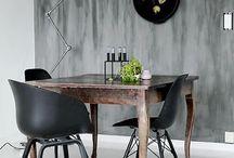 ♦︎ INSPIRATIE EETKAMER / Ben je bezig met de (her)inrichting van de eetkamer? Bekijk deze pagina voor leuke inspiratie! Neem ook eens een kijkje op www.tabledusud.nl voor de mooiste tafels, eetbanken en stoelen.