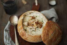 Soups. / Soup, stew, chowder & more! / by Alexa Leedy
