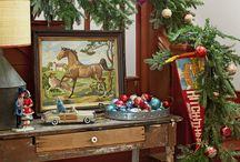 Christmas entryway