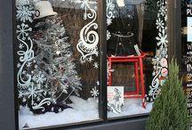 CHRISTMAS - raam decoreren | window decorating