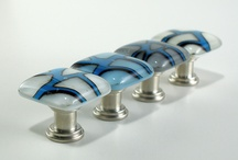 Fused Glass Door Knobs/Hangers
