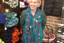 Felting classes at LYS / A variety of felting classes make for some amazing creations.  Check it out!!