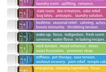 Young Living Essential Oils / by Amie Hurst