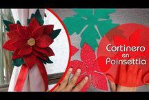 Cordón cortina Navidad