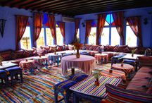 Luxury Riads in Morocco / Riads - traditional and luxury hotels with quiet interior gardens in Marrakech and beyond...