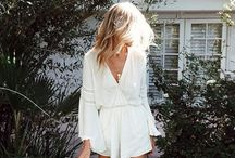 Dress: Boho Chic / I love this easy, breezy look. Outfit ideas!