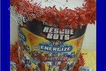Rescue Bots Birthday Party