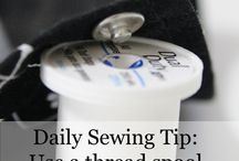 Sewing Tip Snippets / Daily Sewing tips - A collection of the best sewing hacks.
