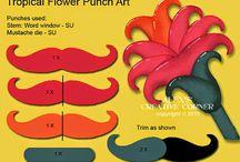 Carte avec la Perfo moustache