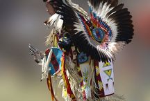Traditional First Nation Powwow Outfits