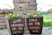 creative patio