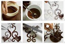 Čokoladové ozdoby