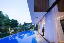 casa amb piscina